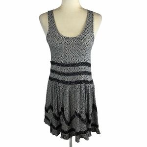 Maurices Lace Trim Printed Tank Dress